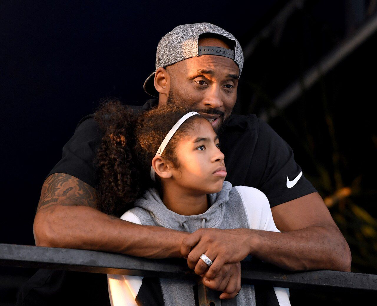 Kobe et sa fille