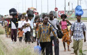 Déplacés ivoiriens